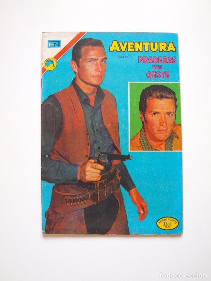 AVENTURA Nº 765 - PRADERAS DEL OESTE - MÉDICO INEXPERTO - NOVARO 1972 (Tebeos y Comics - Novaro - Aventura)