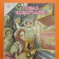 BDs: VIDAS EJEMPLARES Nº 58, SANTA TERESITA DE NIÑO JESUS - AÑO 1959 - ED. NOVARO... L1262. Lote 207487406