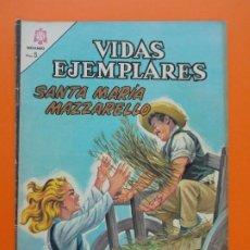 Tebeos: VIDAS EJEMPLARES Nº 213, SANTA MARIA MAZZARELLO - AÑO 1966 - ED. NOVARO... L1272. Lote 207538085