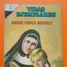 Tebeos: VIDAS EJEMPLARES Nº 235 - MADRE PAULA MONTALT - AÑO 1966 - ED. NOVARO... L1275. Lote 207541573