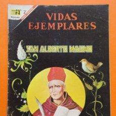 Tebeos: VIDAS EJEMPLARES Nº 241 - SAN ALBERTO MAGNO - AÑO 1967 - ED. NOVARO... L1279. Lote 207545711
