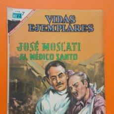 Tebeos: VIDAS EJEMPLARES Nº 242 - JOSE MOSCATI, EL MEDICO SANTO - AÑO 1967 - ED. NOVARO... L1280. Lote 207545968