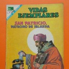 Tebeos: VIDAS EJEMPLARES Nº 263 - SAN PATRICIO, PATRONO DE IRLANDA - AÑO 1968 - ED. NOVARO... L1283. Lote 207548210