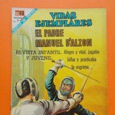 Tebeos: VIDAS EJEMPLARES Nº 268 - EL PADRE MANUEL D'ALZON - AÑO 1968 - ED. NOVARO... L1285. Lote 207548928
