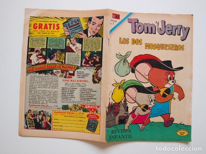 Tebeos: TOM Y JERRY Nº 287 - LOS DOS MOSQUESEROS - NOVARO 1970 - Foto 5 - 207550585