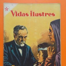 Tebeos: VIDAS ILUSTRES Nº 4 - LOUIS PASTEUR, BENEFACTOR DE LA HUMANIDAD - AÑO 1956 - ED. NOVARO... L1289. Lote 207553436