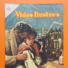 Tebeos: VIDAS ILUSTRES Nº 5 - MADAME CURIE, DESCUBRIDORA DEL RADIO - AÑO 1956 - ED. NOVARO... L1290. Lote 207553935