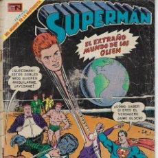 Tebeos: SUPERMÁN - AÑO XVIII, Nº 711, JUNIO 4 1969 *** NOVARO MÉXICO - EDICIONES RECREATIVAS ***. Lote 207609546