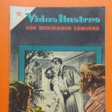 Tebeos: VIDAS ILUSTRES Nº 6 - LOS HERMANOS LUMIERE - PRECURSORES DEL CINEMATOGRAFO, 1956 - ED. NOVARO. L1291. Lote 207637966