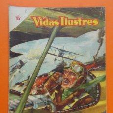 Tebeos: VIDAS ILUSTRES Nº 8 - GABRIEL D'ANNUNZIO - AÑO 1956 - ED. NOVARO. L1292. Lote 207639211