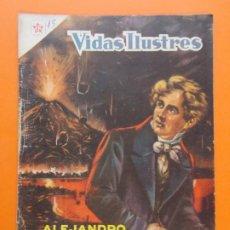 Tebeos: VIDAS ILUSTRES Nº 15 - ALEJANDRO DE HUMBOLDT - AÑO 1956 - ED. NOVARO. L1294. Lote 207641393