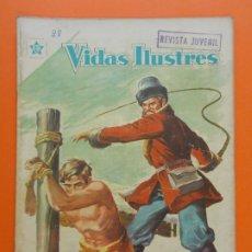 Tebeos: VIDAS ILUSTRES Nº 28, FEDOR DOSTOYEVSKI - AÑO 1958 - ED. NOVARO. L1302. Lote 207650110