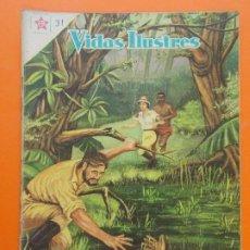 Tebeos: VIDAS ILUSTRES Nº 31 LA SELVA SIN TIEMPO DE DAVID LIVINGSTONE - AÑO 1958 - ED. NOVARO. L1305. Lote 207652135