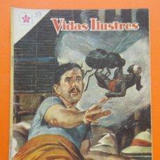 Tebeos: VIDAS ILUSTRES Nº 37 EL SUEÑO DE MUERTE DE DAVID BRUCE - AÑO 1959 - ED. NOVARO... L1311. Lote 207654900
