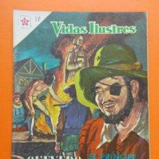 Tebeos: VIDAS ILUSTRES Nº 38 - QUEVEDO, EL PRINCIPE DE LOS INGENIOS - AÑO 1959 - ED. NOVARO... L1312. Lote 207655275