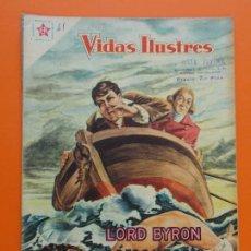 Tebeos: VIDAS ILUSTRES Nº 41 - LORD BYRON, HEROE Y POETA - AÑO 1959 - ED. NOVARO... L1314. Lote 207655706