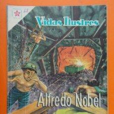 Tebeos: VIDAS ILUSTRES Nº 42 - ALFREDO NOBEL - AÑO 1959 - ED. NOVARO... L1315. Lote 207656793