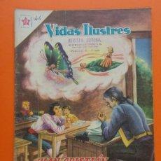 Tebeos: VIDAS ILUSTRES Nº 44, JUAN CRISTIAN ANDERSEN, EL MAGO DE LOS CUENTOS - AÑO 1959 - ED. NOVARO.. L1317. Lote 207658062