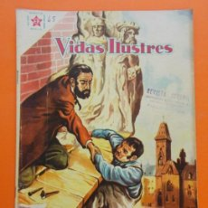 Tebeos: VIDAS ILUSTRES Nº 45 - AUGUSTO RODIN - AÑO 1959 - ED. NOVARO.. L1318. Lote 207658290