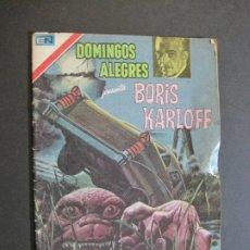 Tebeos: DOMINGOS ALEGRES-BORIS KARLOFF-EDITORIAL NOVARO-VER FOTOS-(V-20.421). Lote 207662683