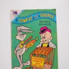 Tebeos: EL CONEJO DE LA SUERTE Nº 297 - NOVARO 1968. Lote 207738471