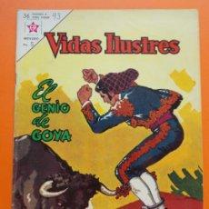 Tebeos: VIDAS ILUSTRES Nº 93 - EL GENIO DE GOYA - AÑO 1963 - ED. NOVARO.. L1324. Lote 207820457