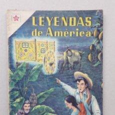 Tebeos: LEYENDAS DE AMÉRICA N° 42 - LA CARRETA PERDIDA - ORIGINAL EDITORIAL NOVARO. Lote 207832928