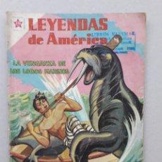 Tebeos: LEYENDAS DE AMÉRICA N° 36 - LA VENGANZA DE LOS LOBOS MARINOS - ORIGINAL EDITORIAL NOVARO. Lote 207833008