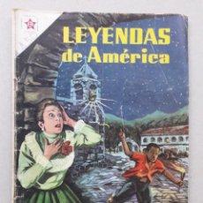 Tebeos: LEYENDAS DE AMÉRICA N° 34 - LA CAMPANA FATAL - ORIGINAL EDITORIAL NOVARO. Lote 207833172