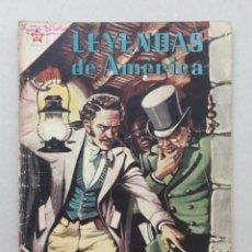 Tebeos: LEYENDAS DE AMÉRICA N° 26 - EL TESTAMENTO ESCONDIDO - ORIGINAL EDITORIAL NOVARO. Lote 207833547