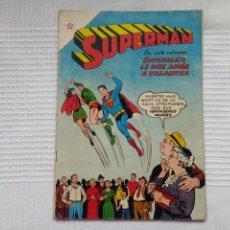Tebeos: SUPERMAN. NÚMERO 88. EDITORIAL NOVARO. 1956.. Lote 207844917