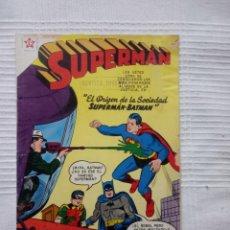 Tebeos: SUPERMAN. NÚMERO 165. NOVARO. AÑO 1958.. Lote 207849493