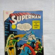 Tebeos: SUPERMAN. NÚMERO 192. EDITORIAL NOVARO. AÑO 1959.. Lote 207852322