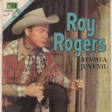 Tebeos: ROY ROGERS - NUM. 195 AÑO 1968 EDITORIAL NOVARO-. Lote 208400216