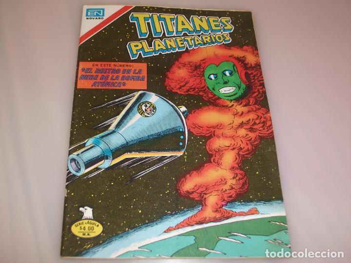 TITANES PLANETARIOS Nº2-430 1979, SERIE ÁGUILA (Tebeos y Comics - Novaro - Sci-Fi)