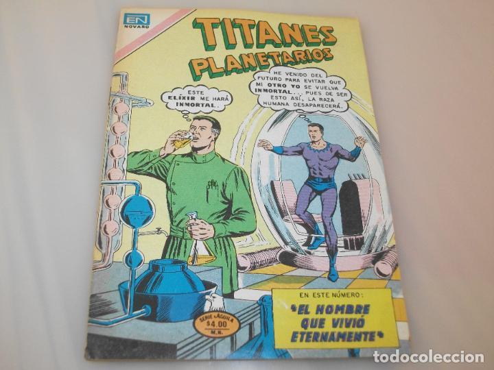 TITANES PLANETARIOS NOVARO 2-432 (Tebeos y Comics - Novaro - Sci-Fi)