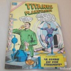 Tebeos: TITANES PLANETARIOS NOVARO 2-432. Lote 208463340