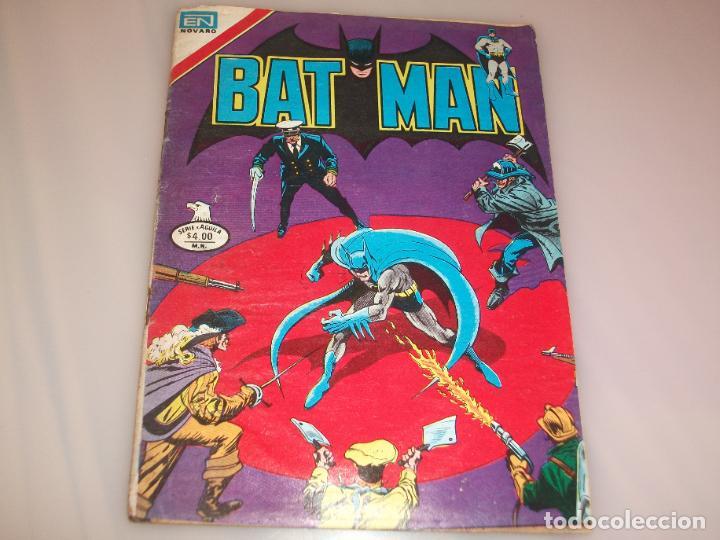 BATMAN ARRUGADO DE HABERSE HUMEDECIDO NOVARO 2-978 (Tebeos y Comics - Novaro - Batman)