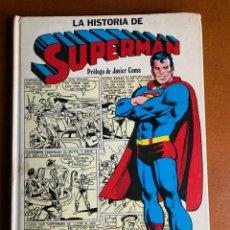 BDs: LA HISTORIA DE SUPERMAN. EDITORIAL E.NOVARO 1979. 192 PÁGINAS. Lote 208478787