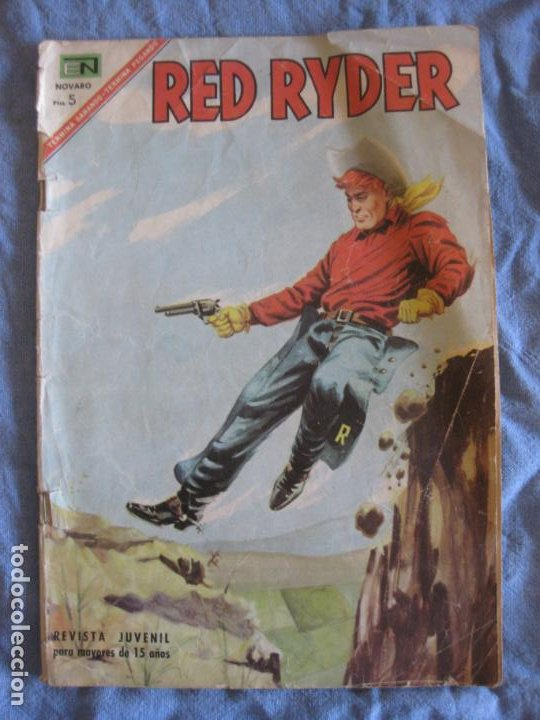RED RYDER Nº 160. EDITORIAL NOVARO. (Tebeos y Comics - Novaro - Red Ryder)