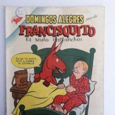 Tebeos: DOMINGOS ALEGRES N° 94 - FRANCISQUITO EL MULO PARLANCHÍN - ORIGINAL EDITORIAL NOVARO. Lote 208964948