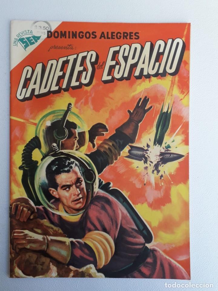 DOMINGOS ALEGRES N° 54 - CADETES DEL ESPACIO (INMACULADA) - ORIGINAL EDITORIAL NOVARO (Tebeos y Comics - Novaro - Domingos Alegres)