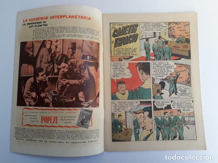 Tebeos: Domingos alegres n° 54 - Cadetes del espacio (inmaculada) - original editorial Novaro - Foto 2 - 208967116