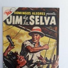 Tebeos: DOMINGOS ALEGRES N° 59 - JIM DE LA SELVA! (ESPECTACULAR) - ORIGINAL EDITORIAL NOVARO. Lote 209006292