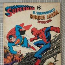 Tebeos: SUPERMAN VS SPIDERMAN. TOMO UNICO. EDITORIAL NOVARO 1977. Lote 209083233