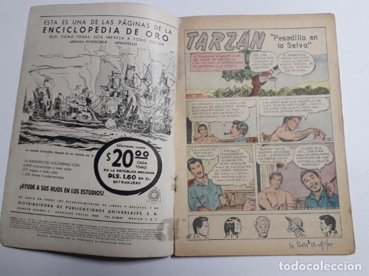 Tebeos: Tarzán n° 119 - original editorial Novaro - Foto 2 - 136245942
