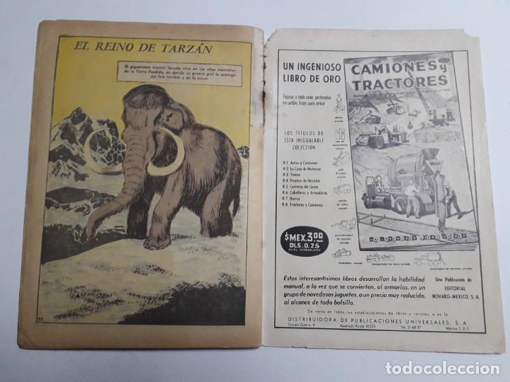 Tebeos: Tarzán n° 119 - original editorial Novaro - Foto 4 - 136245942
