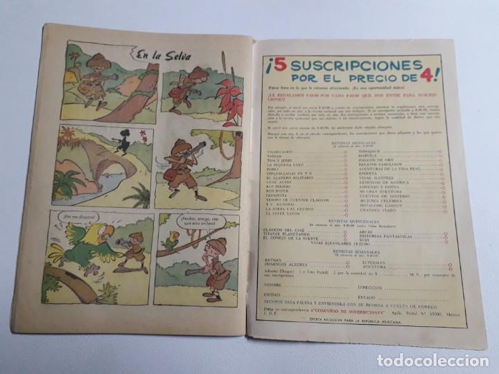 Tebeos: Tarzán n° 141 - original editorial Novaro - Foto 4 - 87077424
