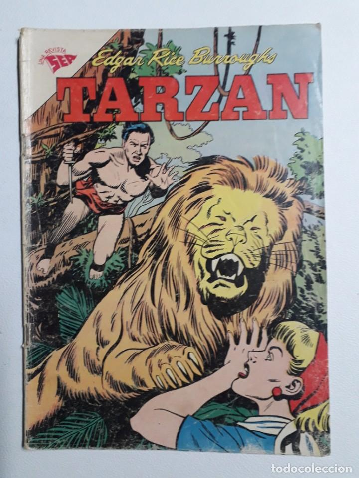 TARZÁN N° 141 - ORIGINAL EDITORIAL NOVARO (Tebeos y Comics - Novaro - Tarzán)