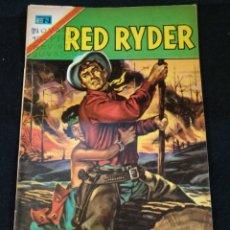 Tebeos: RED RYDER, N°345, NOVARO. CON TABLAS BINGO PEPSI. Lote 209196550